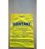 Igelitová taška KONTAKT žlutá