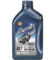 Shell Advance 4T AX7 /VSX 4/ 10W-40   1 L