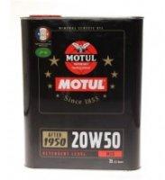 MOTUL Classic motor oil 20W 50 (2L)